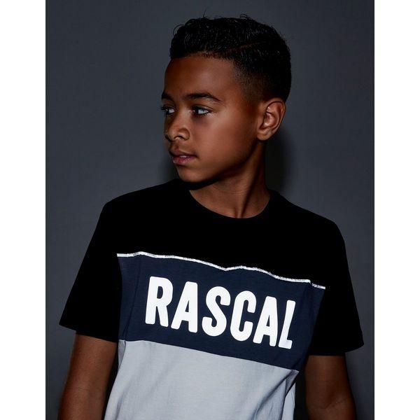 Rascal Acronym Colour Block T-Shirt Junior