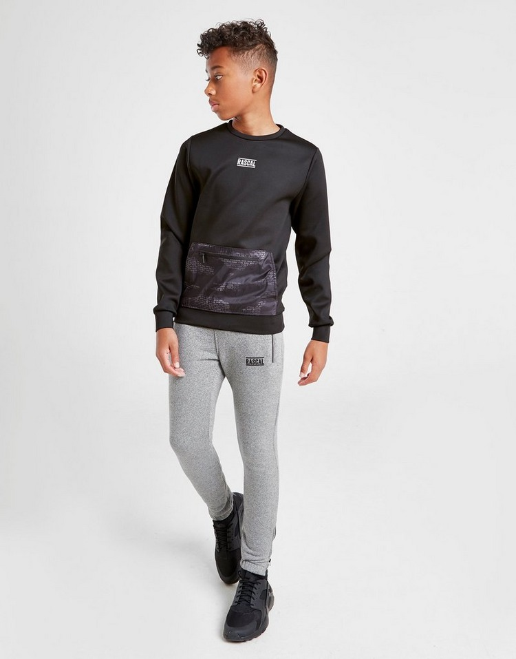 Rascal House Camo Box Sweatshirt Junior