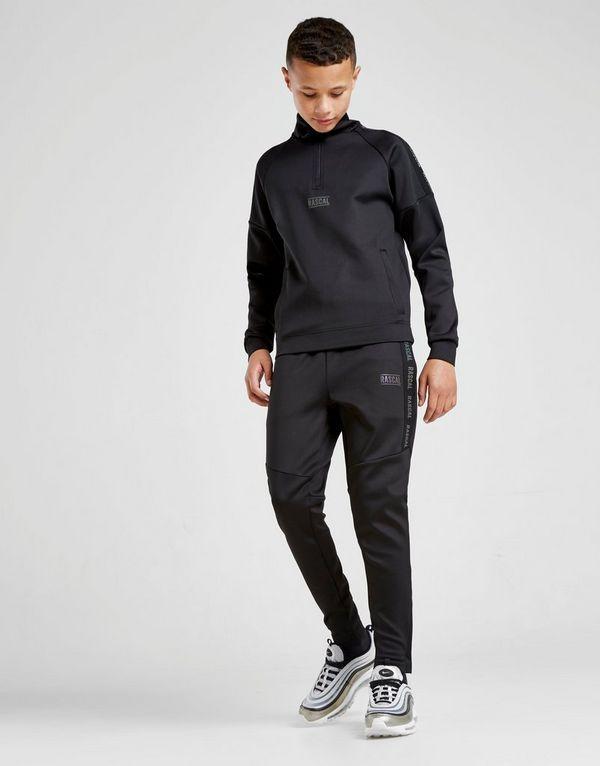 Rascal Iridescent Tape 1/4 Zip Sweatshirt Junior