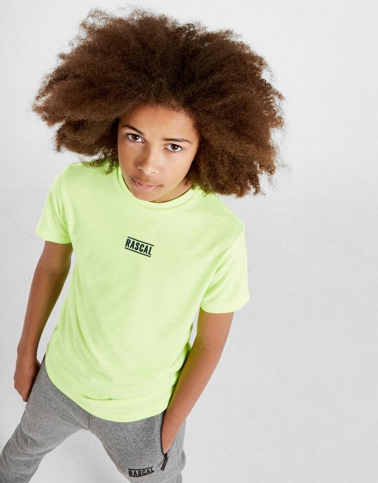 Rascal Neon Pop Logo T-Shirt Junior
