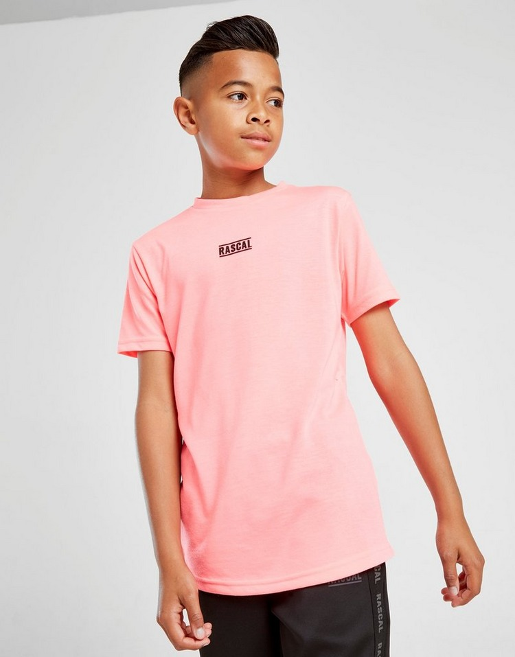 Rascal Neon Pop Logo T-Shirt Junior