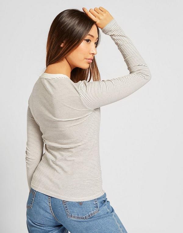 Levis Long Sleeve Stripe T-Shirt