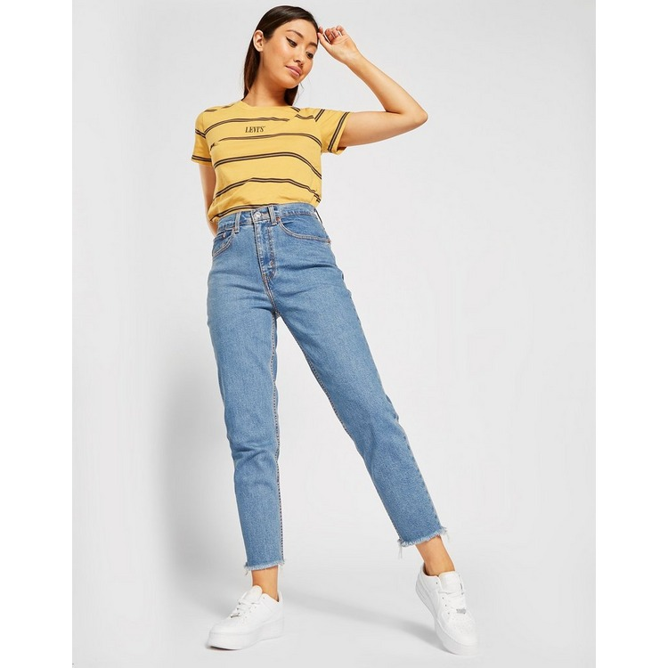 Levis Mid Wash Mom Jeans