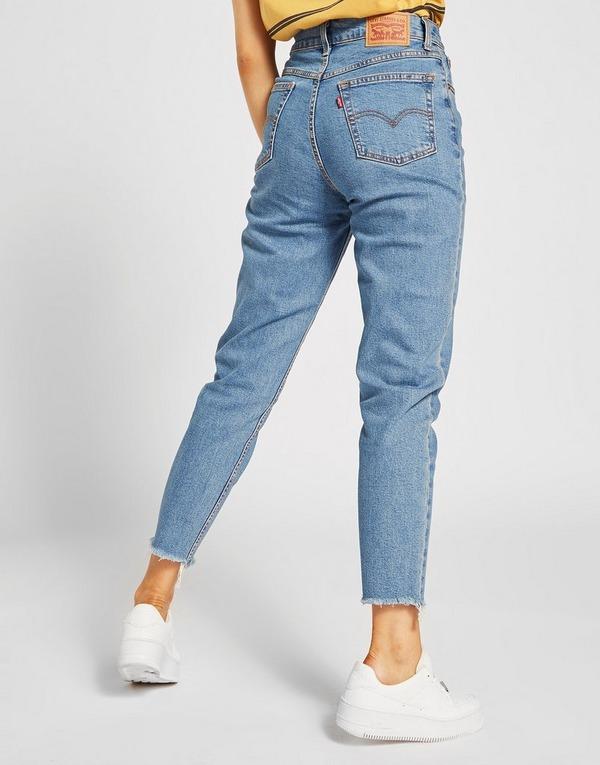 Levis Mid Wash Mom Jeans | JD Sports