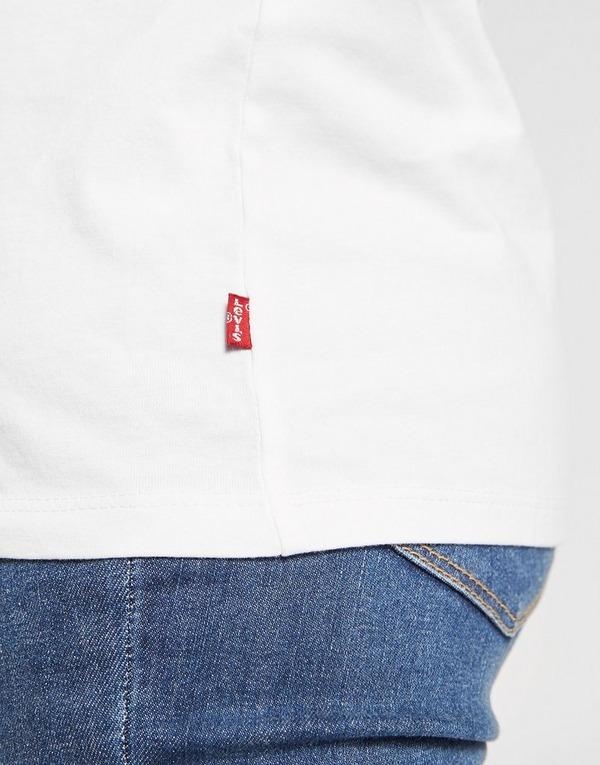 Levis T-Shirt Serif Logo Femme