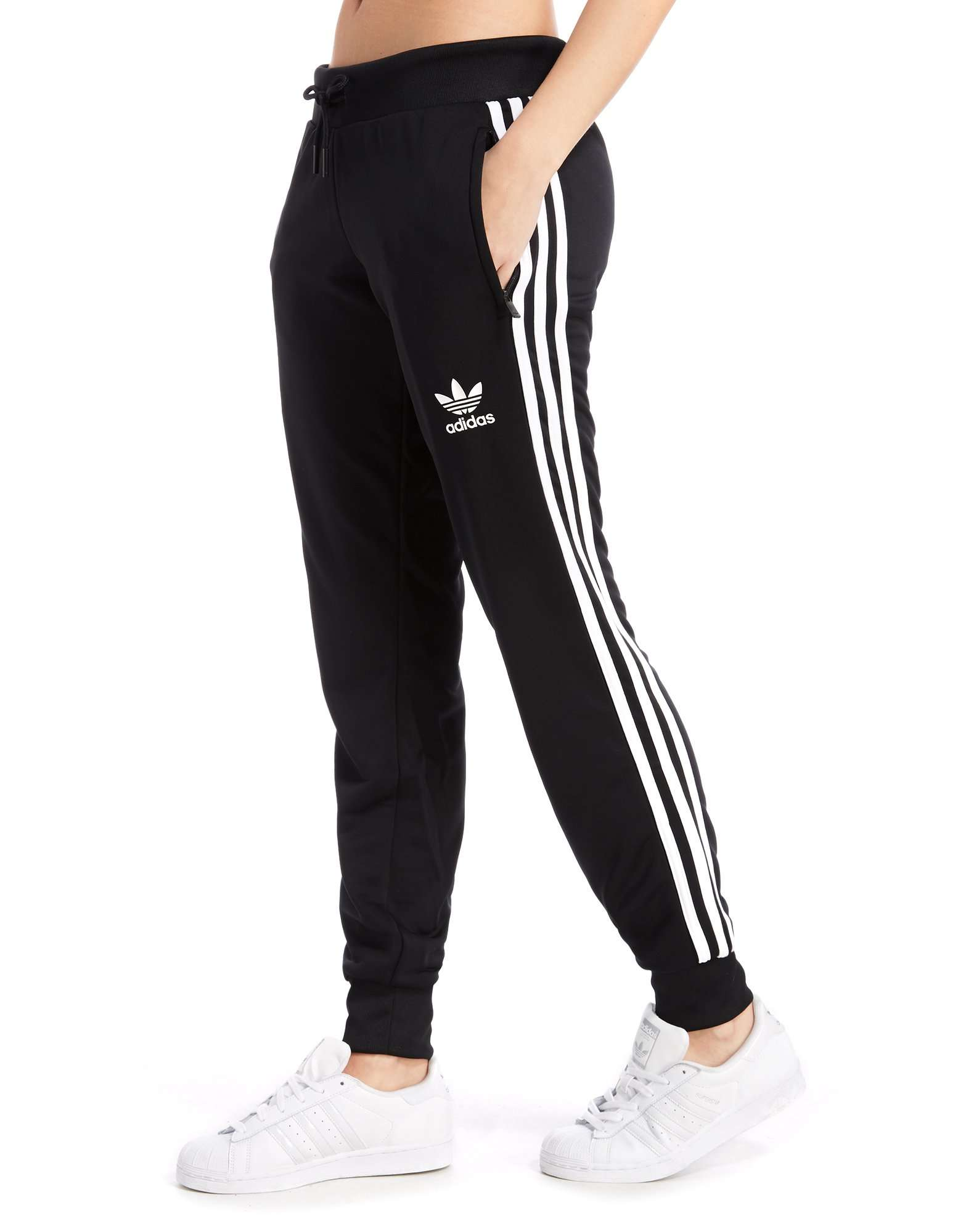 cc9e2536 adidas Originals Poly 3-Stripes Pants | JD Sports