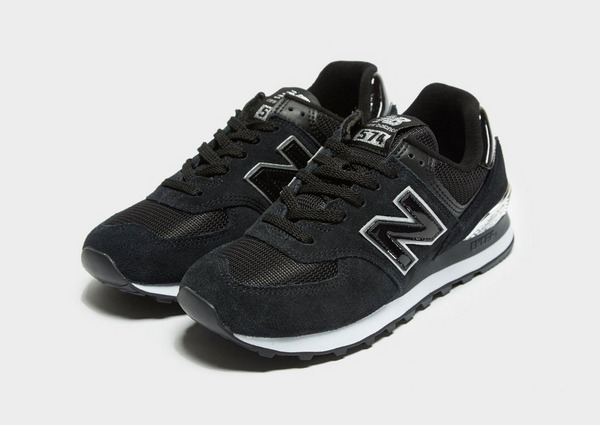 Buy Black New Balance 574 Women's