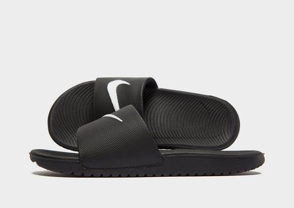 chaussures de séparation paquet à la mode et attrayant vaste sélection Nike Kawa Slides Junior | JD Sports
