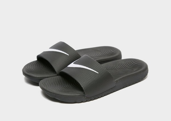 Acherter Noir Nike Kawa Slides Enfant | JD Sports