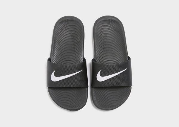 polla Acuoso Desnatar  Compra Nike chanclas Kawa infantil en Negro