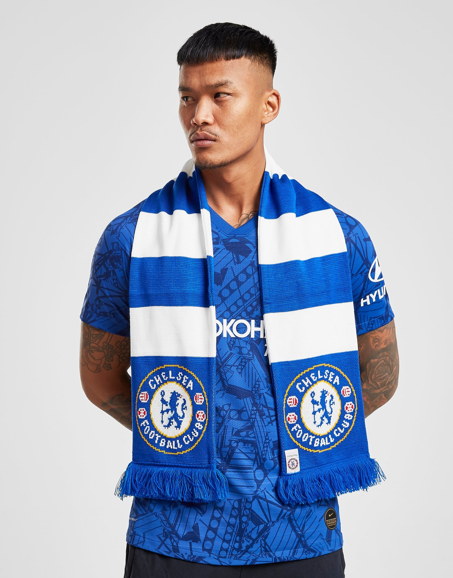 Official Team Chelsea FC Bar Scarf | JD Sports