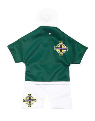 Official Team Northern Ireland Home Kit Car Hanger