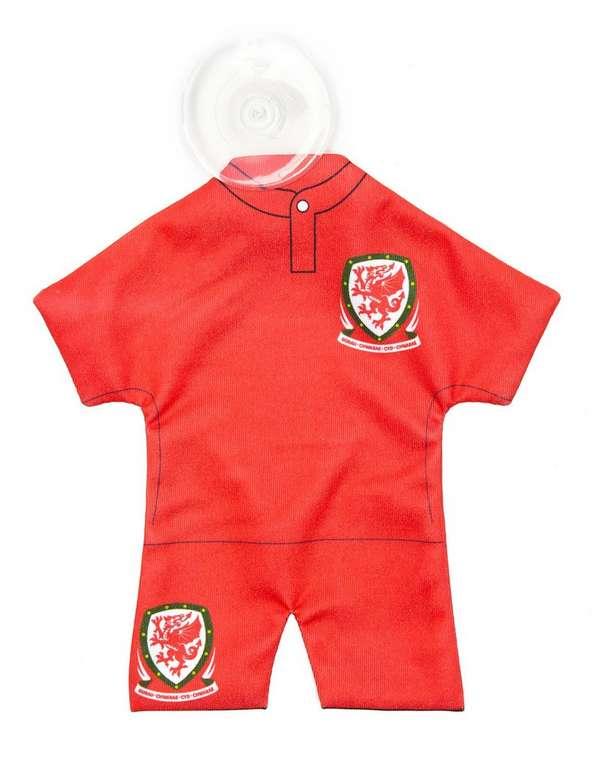 Official Team Wales Car Hanger