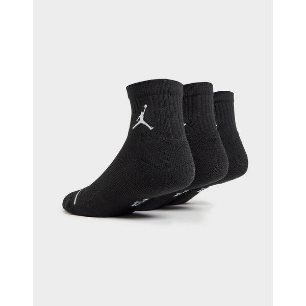 Jordan 3 Pack Drift Low Quarter Socks
