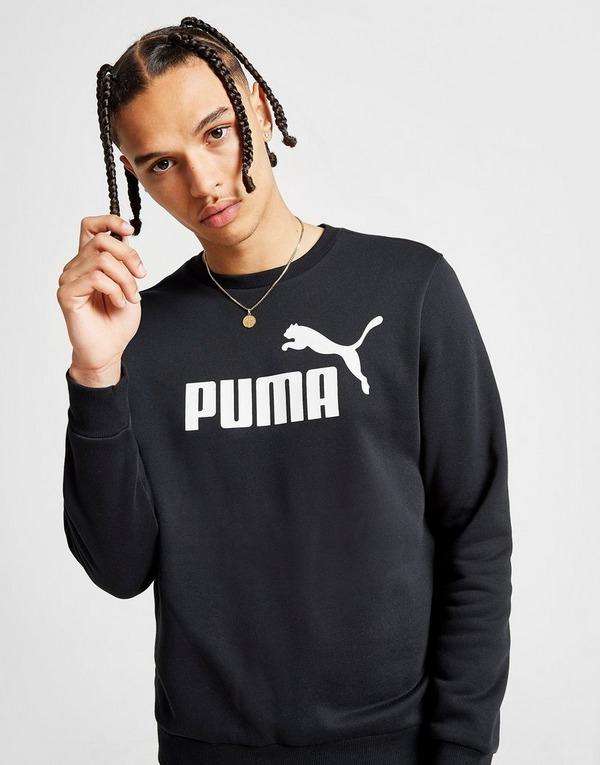 PUMA Core Logo Crew Sweatshirt Herren