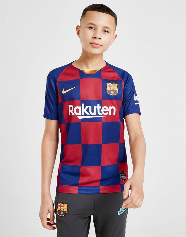 Nike FC Barcelona 2019/2020 Messi #10 Shirt Junior
