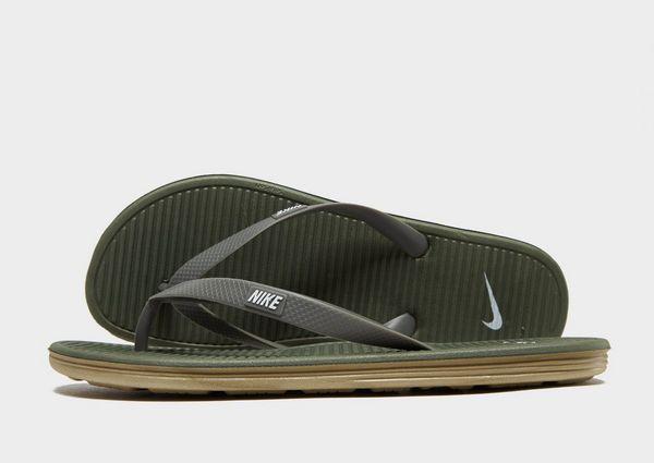 brand new e8e67 6fd9c Nike Solarsoft II Flip Flops   JD Sports