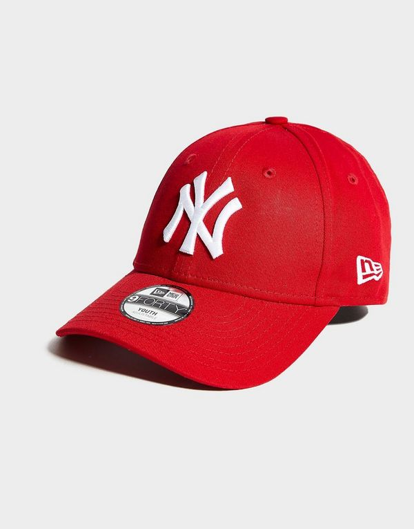 low priced 4cb3a c9430 New Era MLB 9FORTY New York Yankees Cap Junior