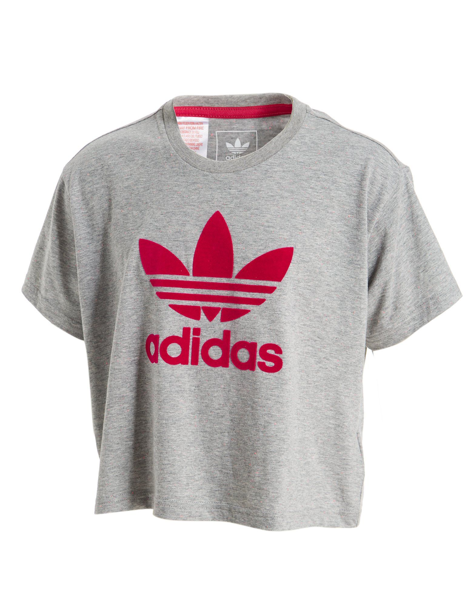 6373d51f9 adidas Originals Girls' Crop T-Shirt Junior | JD Sports