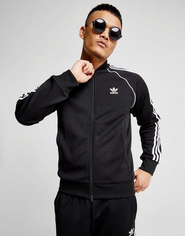 adidas Originals Superstar Track Top Heren | JD Sports