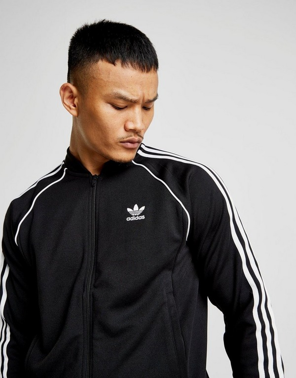 Buy Black adidas Originals SS Track Top Men's | JD Sports