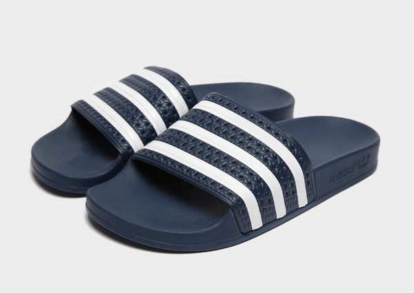 Koop Blauw adidas Originals Adilette Slides Dames | JD Sports