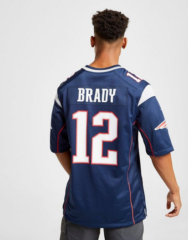 283a3c5e Nike NFL New England Patriots (Tom Brady) Men's American Football ...