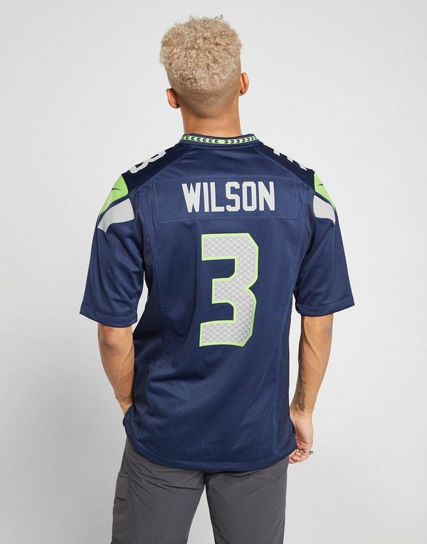 new concept 00bc9 d3d9b Nike NFL Seattle Seahawks (Russell Wilson) Men's American ...