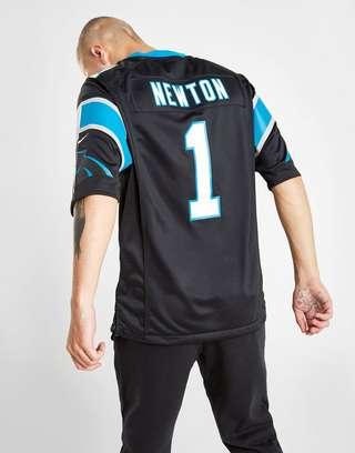 timeless design 7baef 32b9f Nike NFL Carolina Panthers (Cam Newton) Men's American ...