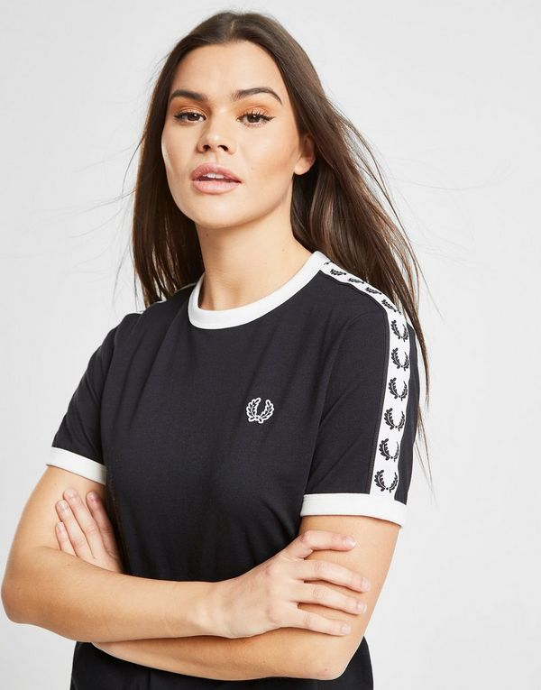 22476e01e44f Fred Perry Tape Ringer T-Shirt | JD Sports