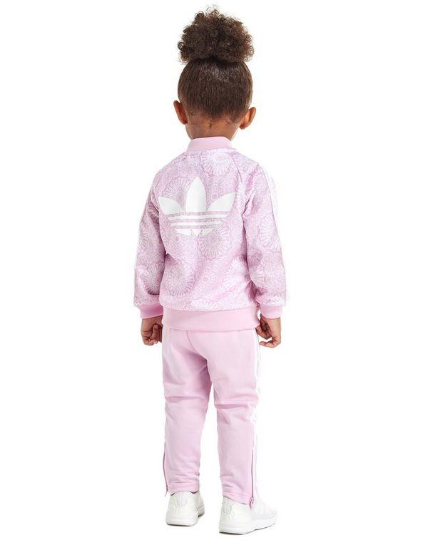 a8d557f81cf adidas Originals Girls' All Over Print Superstar Tracksuit Infant ...