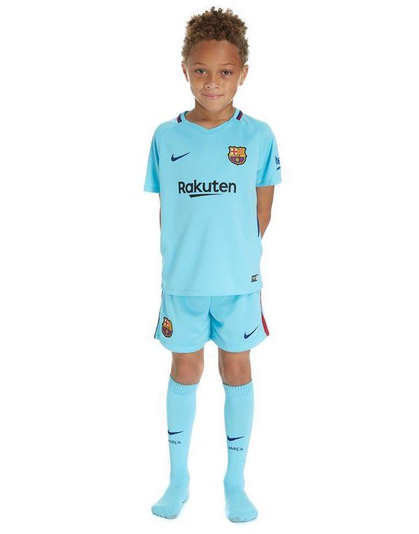 fed6f0743ca Nike Barcelona 2017 18 Away Kit Children