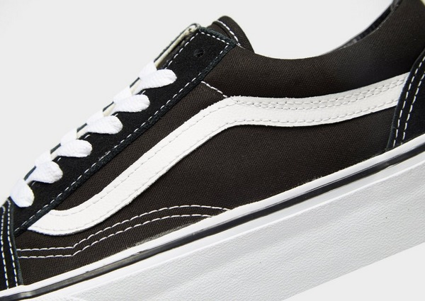 Shop den Vans Old Skool Platform Damen in Black | JD Sports
