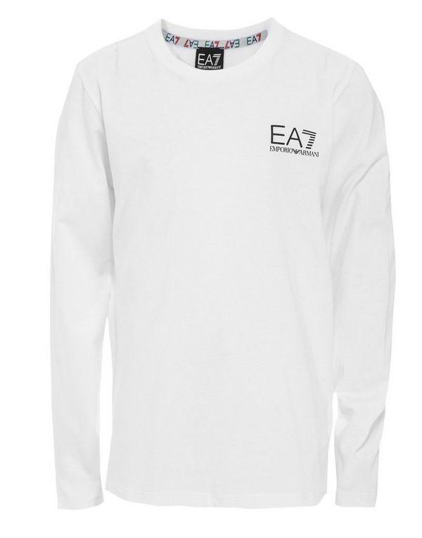 d650dbc4eb28 Emporio Armani EA7 Core Long Sleeve T-Shirt Junior | JD Sports