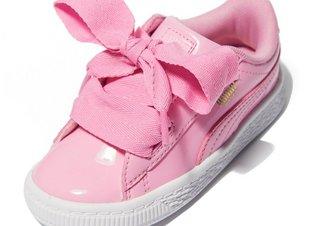 the latest 5bcac bafa5 PUMA Basket Heart Patent Infant | JD Sports