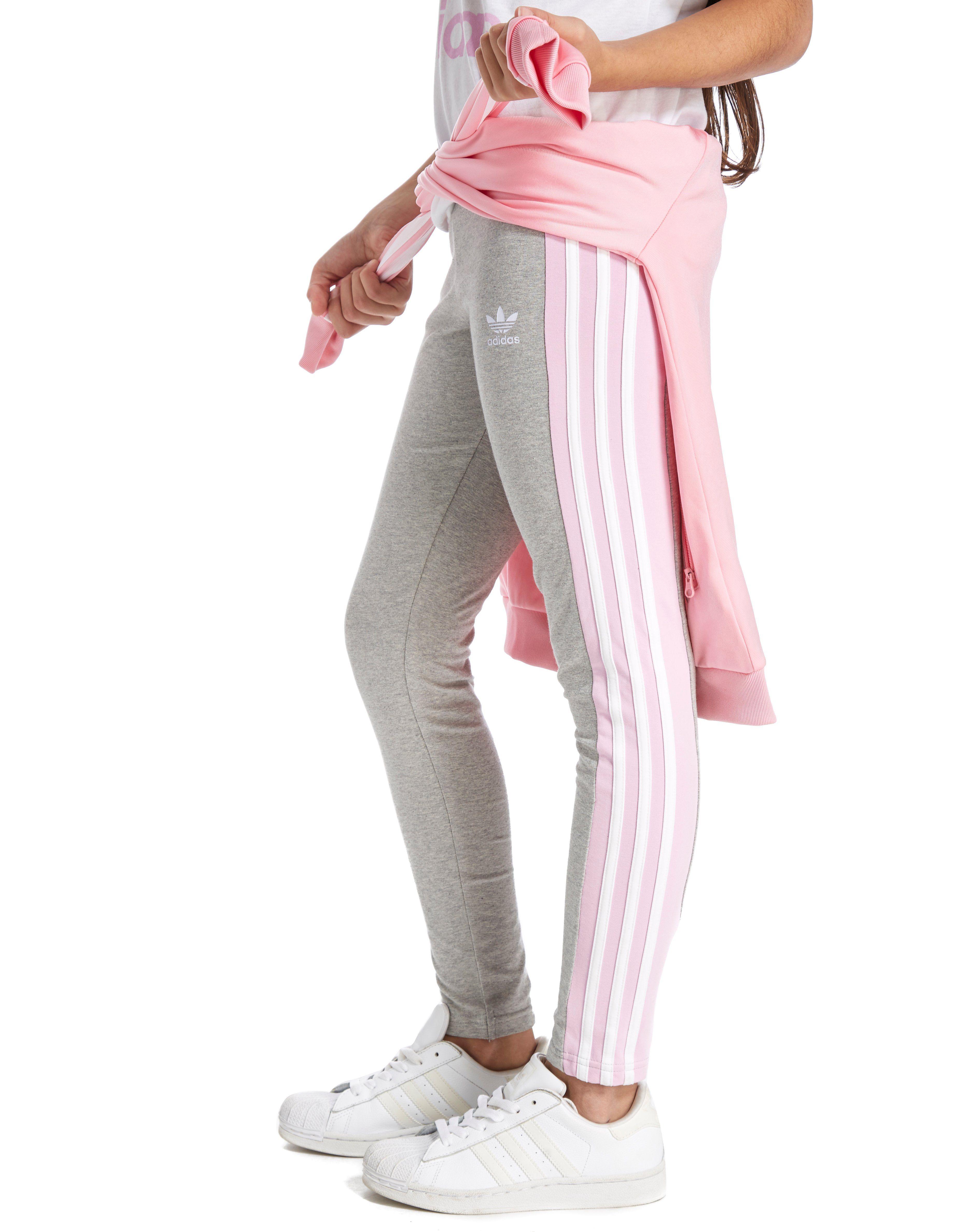 544784df75430 adidas Originals Girls' 3-Stripes Leggings Junior | JD Sports