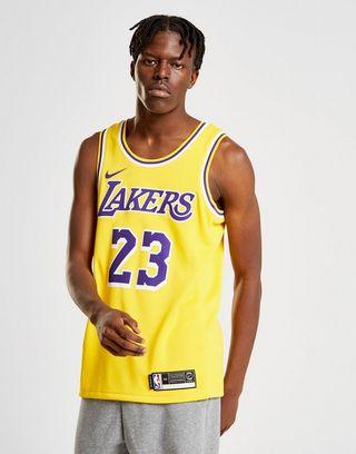 sports shoes dd383 420cc Nike NBA LA Lakers James Jersey   JD Sports