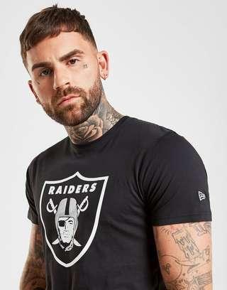 new style 2f12e 61ad2 New Era NFL Oakland Raiders T-Shirt   JD Sports