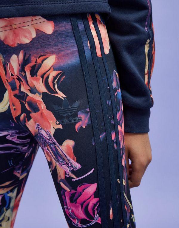 Floral Originals Adidas JuniorJd Leggings Sports Girls' Pk0wO8ZNnX