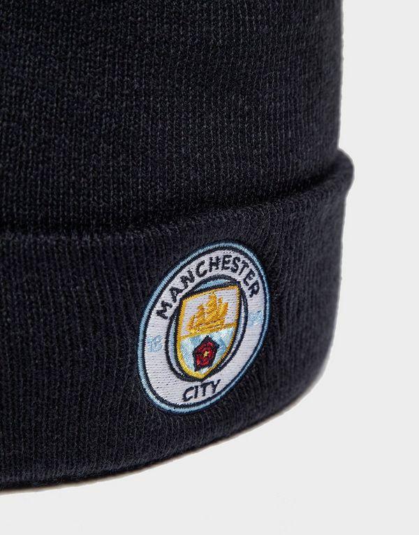 6cb2543b4db 47 Brand Manchester City FC Cuffed Beanie Hat