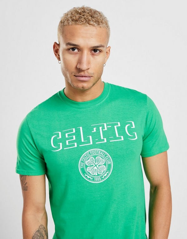 Official Team Celtic Badge T-shirt Herre