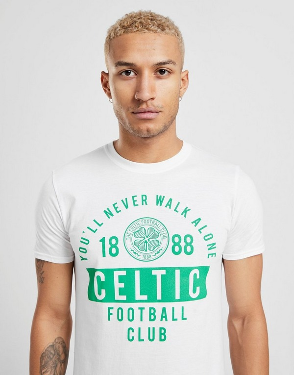 Official Team Celtic You'll Never Walk Alone Shirt