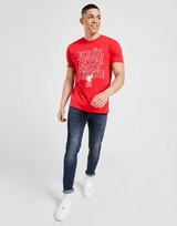 Official Team Liverpool FC YNWA T-Shirt Heren