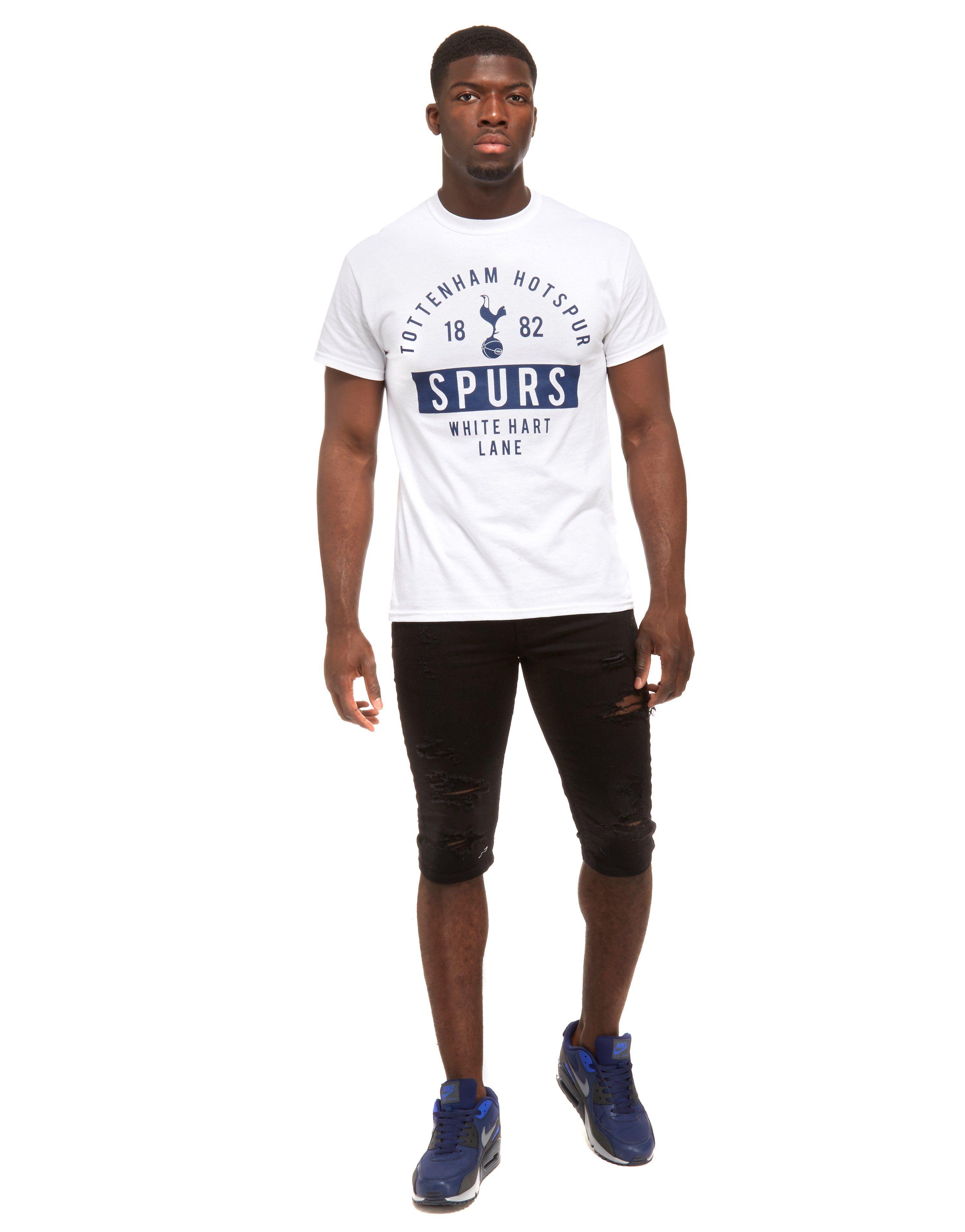 Official Team Tottenham Hotspur 2017 White Hart Lane T-Shirt