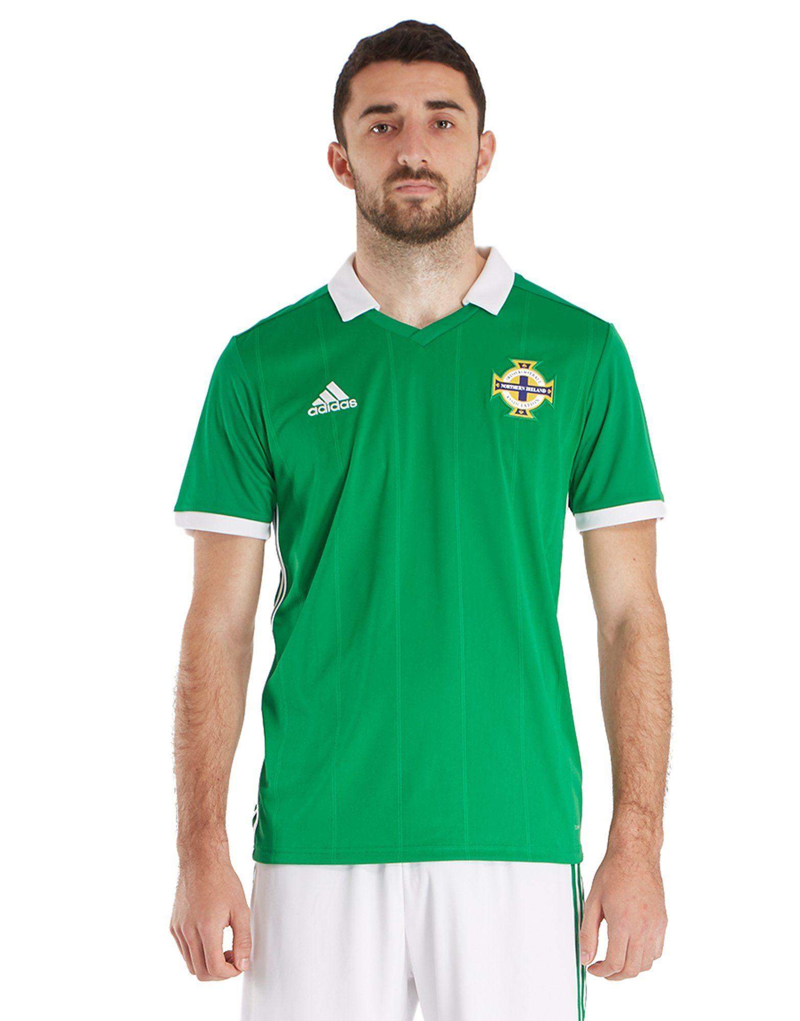 2eb08ad69 adidas Northern Ireland 2018 19 Home Shirt