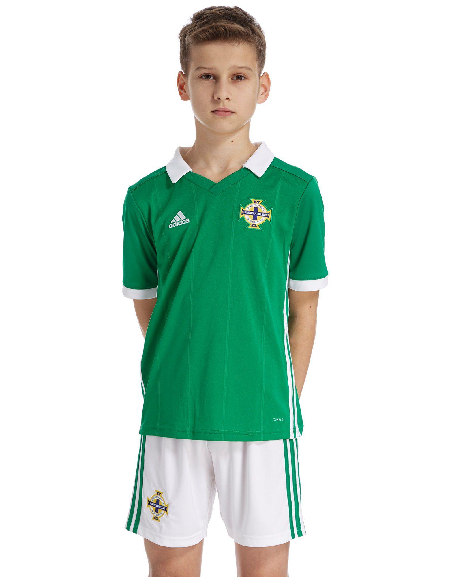 adidas Northern Ireland 2018/19 Home Shirt Junior