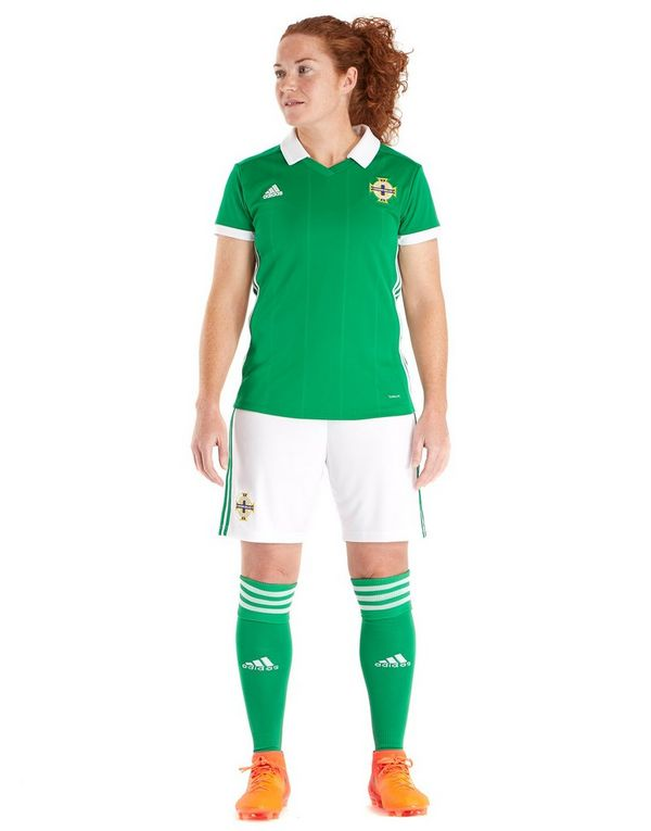 quality design ee765 26099 adidas Northern Ireland 2018/19 Home Shirt Women's | JD Sports