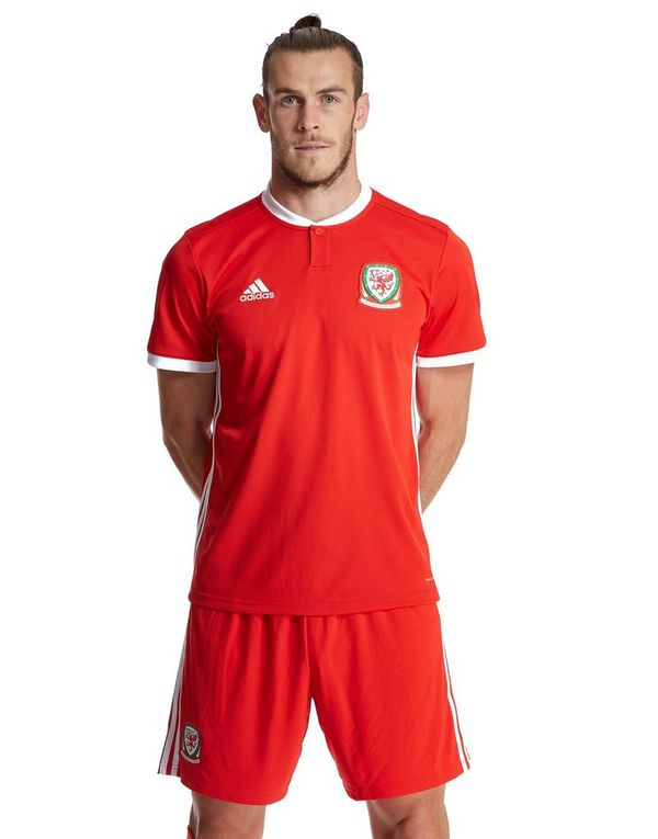 37cf6395441 adidas Wales 2018 19 Home Shirt