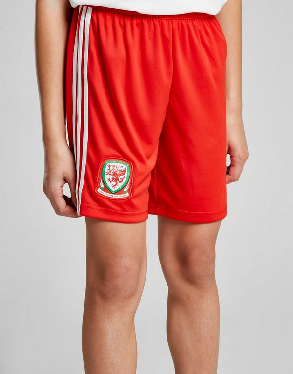 Home Adidas Junior Shorts 201819 Wales nX80kwOP