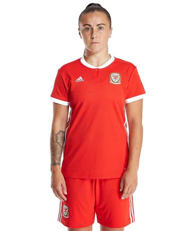 415df40603a adidas Wales 2018 19 Home Shirt Women s